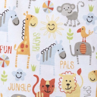 Halo Sleepsack Jungle Pals Swaddle (Yellow) - picture 4