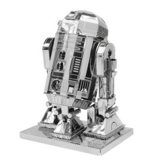 Hang-Qiao 3D Metal R2-D2 Model Toys (Silver)