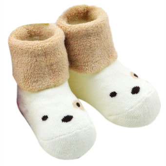 Hang-Qiao Baby Animal Socks New Fashion (White) - picture 2