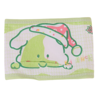 Hang-Qiao Infant Cotton Baby Stomachers Apron (Green)