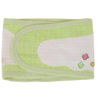 Hang-Qiao Infant Cotton Baby Stomachers Apron (Green) - picture 2