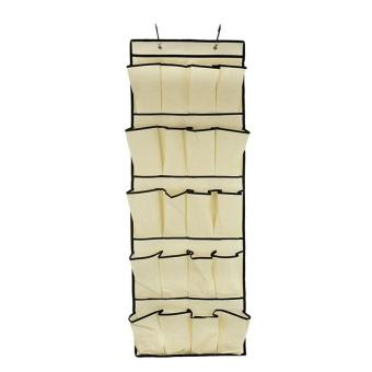 Hanging Storage 20 Pocket Over the Door Organizer Space Saver RackShoe Holder - intl - 2