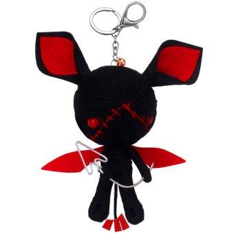 Hanyu DIY Mini Voodoo Dolls Handmade Key Chains #4 Multicolor