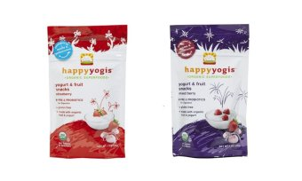 Happy Baby Happy Yogis Bundle of Strawberry and Mixed Berry