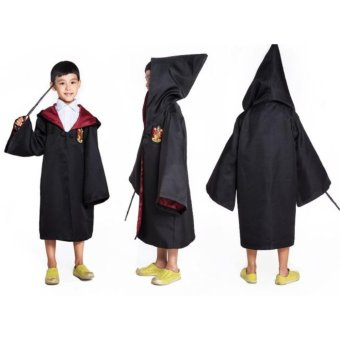 Harry Potter Kids Gryffindor Cloak Robe Costumes Cosplay Size - 115- intl