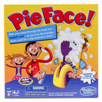 Hasbro Games Pie Face B7063
