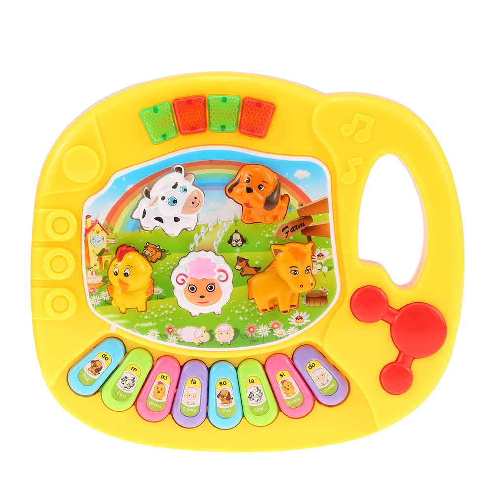 e8f6f37fd9e1 ... High Quality New Useful Popular Baby Kid Animal Farm Piano Music Toy  Electronic Keyboard Musical Educational ...