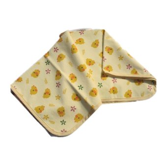 HKS Baby Waterproof Washable Diaper Changing Mat Pad (Yellow) (Intl) - picture 2