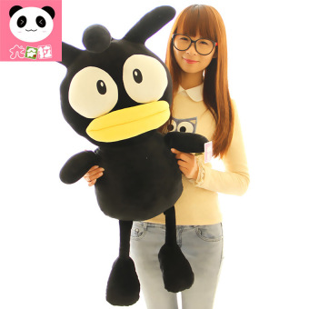 HKS South Korea Stay Adorable Black Chick Plush Toy Doll Creative Valentines Day Birthday Girl-Black 65cm - Intl - picture 2