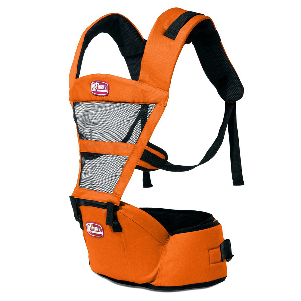 Hot Selling Fashion Breathable Baby Carriers ShouldersBackpack-Orange - Intl