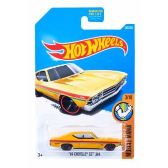 Hot Wheels Basic Car - 69 Chevelle SS 396 DC:962L