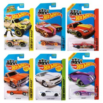 Hot Wheels Basic Car (Assorted)