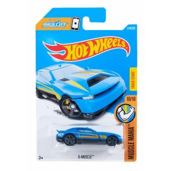 Hot Wheels Basic Car - D-Muscle DC:962K