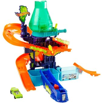Hot Wheels(R) Color Shifters Color Splash Science Lab Play Set