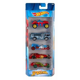 Hot Wheels(R) SPIDER MAN 5PK vehicles