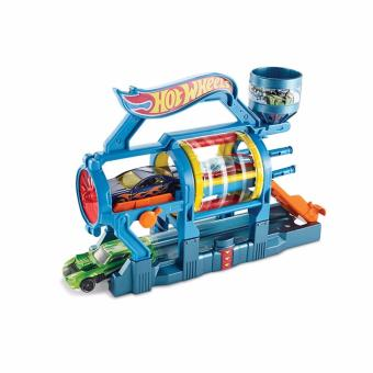 Hot Wheels(R) Turbo Jet Car Wash Play Set