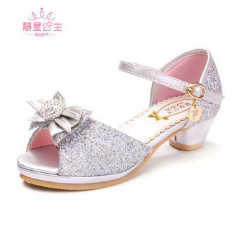 Hui Xing princess Korean-style Student Summer children's high-heeled shoes children's shoes