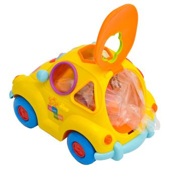 Huile Intelligents Fruit Car Blocks (Multicolor) - picture 2