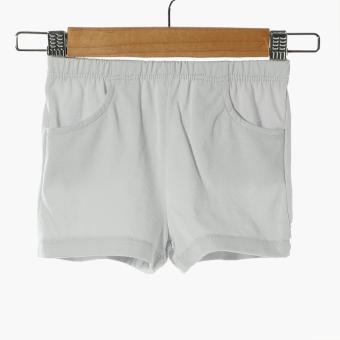 Hush Hush Baby Boys King Polo Shirt and Shorts Set (Gray) - 4
