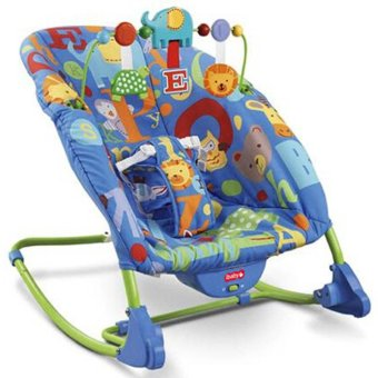 iBaby NO-68122 I-baby Deluxe Infant-to-toddler Baby Rocker (Blue) Price Philippines