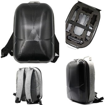 Hard Shell Carrying Backpack bag Case Waterproof Anti-Shock For DJI Mavic Pro Black - intl Price Philippines