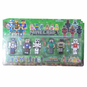 Harga Heroes Mincraft Collection