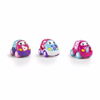 Harga Bright Starts Go Grippers Pink Vehicles - 3pack
