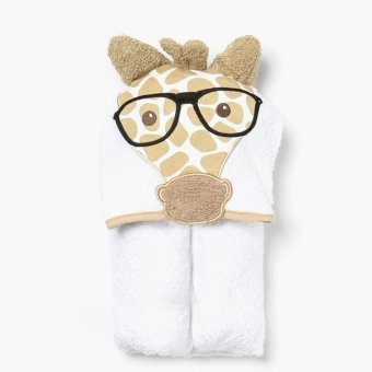 Harga Hush Hush Giraffe Hooded Towel (White)