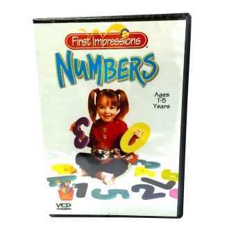 Harga Brainy Baby First Impressions Numbers VCD Series
