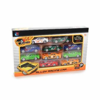 Alloy Racing Car 10pcs RA-1703A Price Philippines