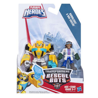 Playskool Heroes Transformers Rescue Bots Bumblebee and Doc Greene Figure Price Philippines