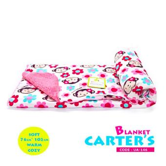 Harga New 2017 Best Quality Soft Comfortable Carter Hooded Blanket-UA146
