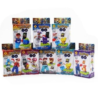 Pokemon Go Minifigures SL8943 Set of 8 Price Philippines