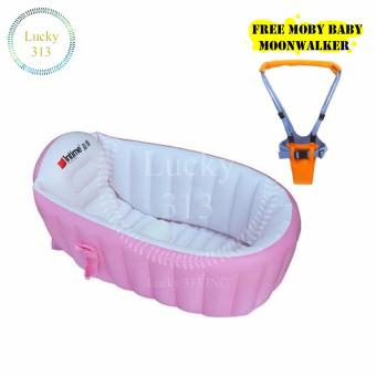 Harga INTIMATE Inflatable Baby Bath with Moby Baby Moon walker