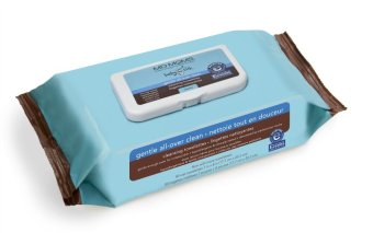 Harga MD Moms Cleansing Towelettes (Blue/Brown)