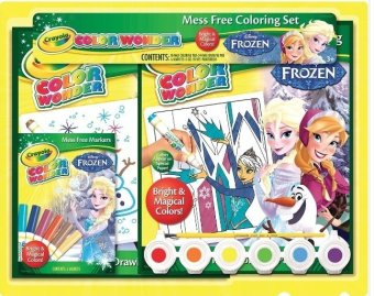 Harga CRAYOLA Color Wonder Frozen Gift Set