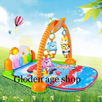 Harga lazada and USA best selling Discover 'n Grow Kick and Play Piano Gym