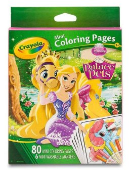 Harga CRAYOLA Mini Coloring Pages with Markers - Disney Princess