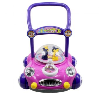 Baby Walker Push Toy Car design with Music (Pink) Price Philippines