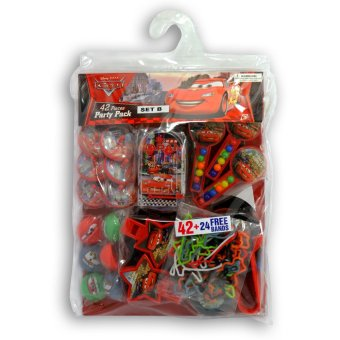 Disney Cars Party Pack Set B- Party Supplies