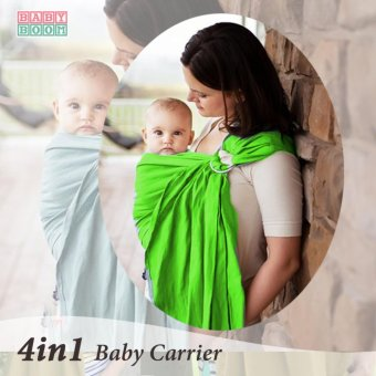 Harga Baby Boom Ring Sling Baby Carrier (Neon)