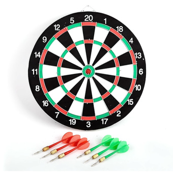Double Sided Dart Game Thick Target Board with 6 Darts Home Office Outdoor Sports Supplies Price Philippines