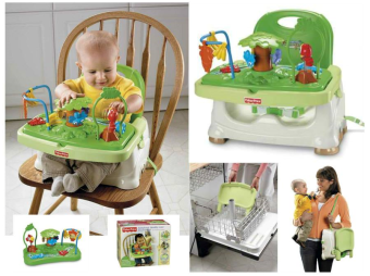Harga Fisher price Rainforest Healthy Care Booster Seat