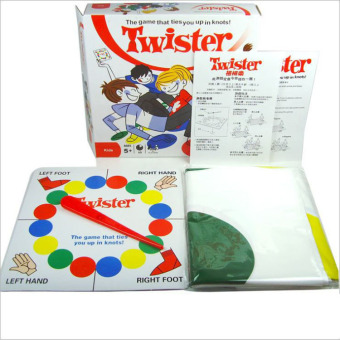 XTV Classic Twister Game, Floor Board Game, Sports Fun Party Game for All Ages Price Philippines