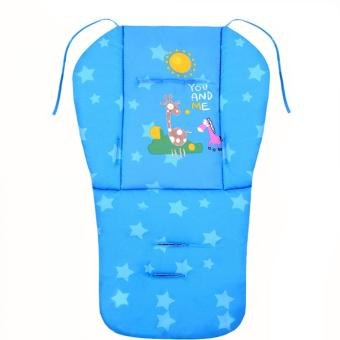 Baby Infant Stroller Seat Pushchair Cushion Cotton Mat Blue Price Philippines