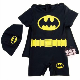 Harga Costume Swim Wear Batman (3-4 Years)