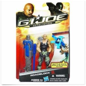 Harga Hasbro G.I.Joe Retaliation Roadblock ORIGINAL*