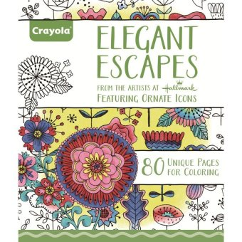 Harga CRAYOLA Elegant Escapes Coloring Book
