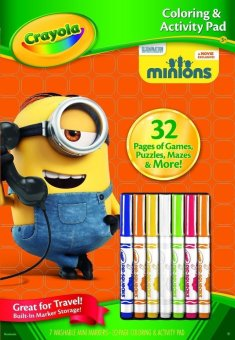 Harga CRAYOLA Coloring Activity Pad with Markers Minions