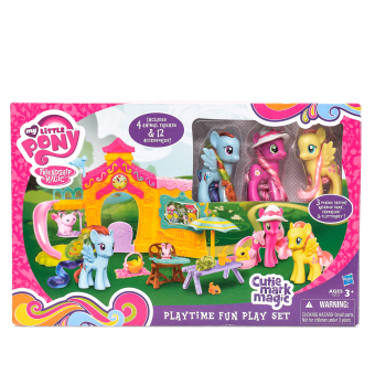 Harga Hasbro My Little Pony Cutie Mark Magic Playtime Fun Playset